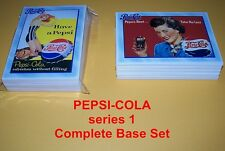 PEPSI-COLA Series One Complete Set - 100 cards - Nostalaga -