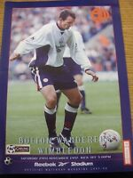 29/11/1997 Bolton Wanderers v Wimbledon  (Excellent Condition)