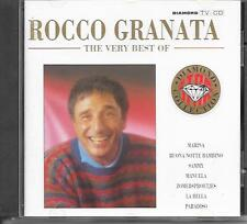 ROCCO GRANATA - The Very Best Of CD 17TR (DIAMOND COLLECTION) 1991 Holland RARE!
