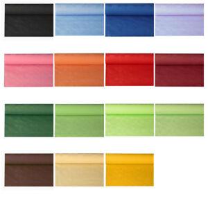 Papiertischdecke mit Damastprägung, 8m x 1,2m, günstige Einweg Tischdeckenrolle