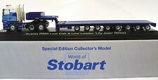1:76 Scale Atlas Editions Scania R560 & Nooteboom Trailer - Stobart Rail - BNIB