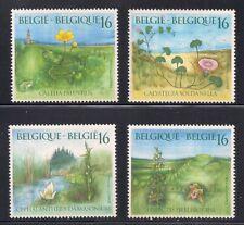 Belgium 1995 Sc # 1562-65 Orchids Mnh (54116)