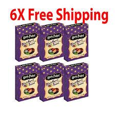6 Pack Harry Potter Jelly Belly Beans BERTIE BOTTS Bean Candy 1.2 oz #102229B