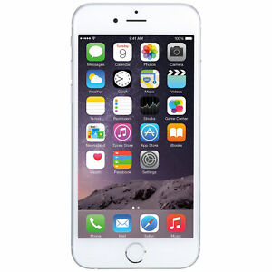 Apple iPhone 6 - Unlocked - AT&T / T-Mobile / Global - 16GB - Silver