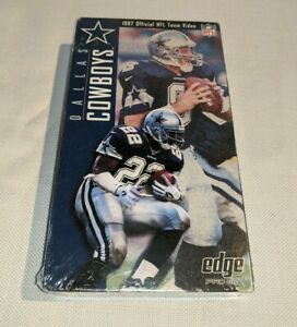 1997 Official NFL Team Video Dallas Cowboys VHS Tape Sealed