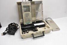 Tektronix Portable Oscilloscope / Oscillograph T201 w/ Case, P6115 Probe & Cable