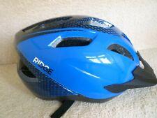 Ridge Cycle Helmet-Blue & Black colour size 56-61cm