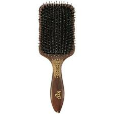 iON Etched Wood Paddle Hair Brush
