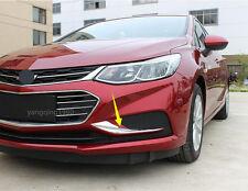Chrome Front Fog Light Fog Lamp Cover Trim For Chevrolet Cruze 2016 2017 Sedan