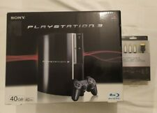 Console PlayStation 3 like new FAT 40GB CECHG04 + s video Cable new  no PS3 60gb