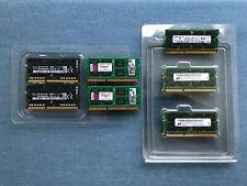 Lot of 2 - 4 GB Laptop MacBook Memory