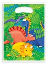 1x Pack of 10 Baby Dinosaurs Themed Children's Party Loot Bags.