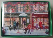 16 Holiday Christmas Greeting Cards Shopping Gifts Stores People Snow Winter Nip
