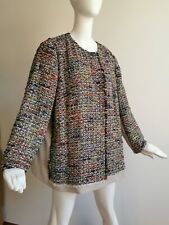 🌟MARINA RINALDI    Tweed Jacket  PLUS size 23-W14USA_52IT_44D_ 48FR_18UK