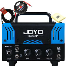 Joyo BanTamp Blue Jay Blues Overdrive 20W Tube Amp Head with Cloth and 2 Cables