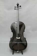 CLASSIC 3/4 SIZE BLACK CELLO HANDMADE QUALITY WITH AND BOW AND ROSIN