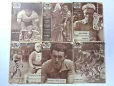 *Vintage 1957 'BUT-CLUB' ~ MIROIR DES SPORTS French Cycling Magazines x 6 copies