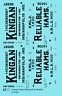 K4 O Decals Kingan Ham Billboard Ice Reefer Black Indianapolis