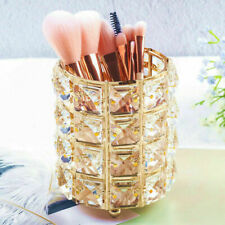 Art Decor Makeup Brush Holder Bucket Fashion Office Pen Pot Organizer
