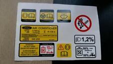 Service stickers Ford Granada MK3,Scorpio 2,9 24V Cosworth BOA