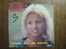 MARIA MIEL 45 TOURS BELGIQUE TENDREMENT FRANK MICHAEL