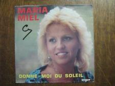 MARIA MIEL 45 TOURS BELGIQUE TENDREMENT FRANK MICHAEL