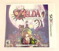 The Legend of Zelda: Majora's Mask 3D (Nintendo 3DS, ) Brand New !