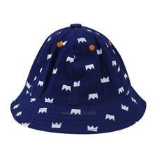 Fashion Newborn Baby Girls Boys Sun Hats Cotton Cap Crown Floral Baby Hat hv2n