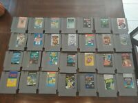 NES Nintendo Entertainment System Game LOT of 28 GAMES