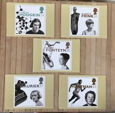 20th Century Women of Achievement | Royal Mail Stamp Cards Postcards | PHQ 181