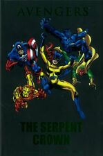 THE SERPENT CROWN AVENGERS 141 - 144 & 147 - 149 GRAPHIC HARD COVER GREEN FOIL