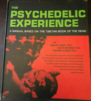 The Psychedelic Experience by Timothy Leary HC 4th Printing 1966 Drugs LSD