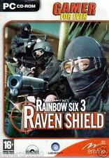 JEU PC CD ROM../...TOM CLANCY'S ....RAINBOW SIX 3......RAVEN SHIELD......