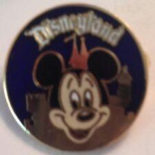 Rare Old Walt Disney Productions Disneyland Mickey Gold Castle Pin Htf
