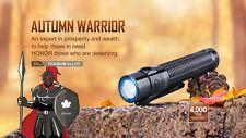 OLIGHT Warrior Mini Autumn Ti Titanium Seasons 1500 Lumen LED Flashlight NEW