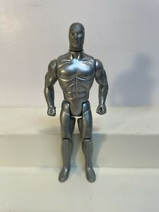 "Vintage 1980 Marvel Silver Surfer 5"" Action Figure Decent Pre Owned Condition!"