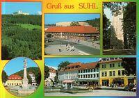 Suhl  -  Ringberghotel - Waffenmuseum - Turm auf dem Domberg - Steinweg  -  2000
