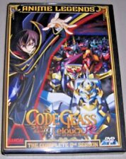 Code Geass: Lelouch of the Rebellion R2 - Complete Season Two (DVD,8-Disc,ANIME)