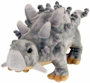 BNWT - Wild Republic Grey Ankylosaurus Dinosaur Dinosauria Soft Toy 38cm/15inch