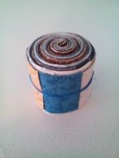 """20 Pre-cut Cotton Quilting Fabric Strips jelly roll 2"""" x 18""""  Brown & Blue"""