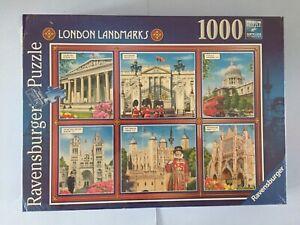 Ravensburger 1000 Piece Jigsaw Puzzle London  Landmarks New & Sealed.
