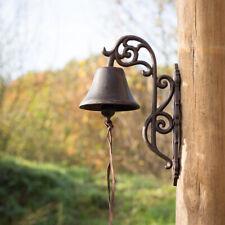 Stilvolle Glocke wie Antik, Haustürglocke mit floraler Form, im Landhausstil