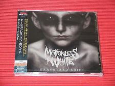2017 JAPAN CD MOTIONLESS IN WHITE Graveyard Shift with Bonus Track