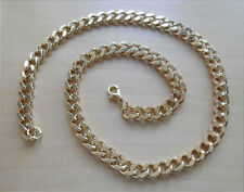 "19"" / 47 cm Long Chunky Curb Gold Neck Chain, Comes in a Gift Bag"