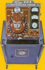 sun distributer tester 504 506 404 dt954   680 instruction manual pdf book cd