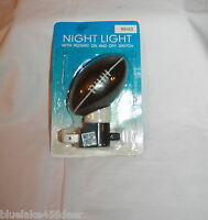 "Football Night Nite Light 4 Watt 2 1/2""W x 31/2""H     Kids Room  Bathroom"
