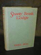Hess SHANTY BROOK LODGE 1937 1stEd Girl Scouts Illust'd