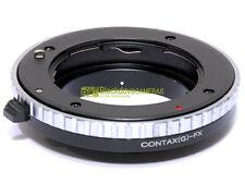 Anello adapter per montare ottiche Contax G su corpi Fuji X-Pro 1. Adattatore.