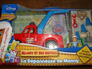 La Abschleppwagen Von Manny Und Seinen Werkzeuge Französisch Spanisch Disney