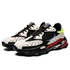 Men's Trainers Shoes Breathable Lace Up Running Athletic Shoes Casual Sneakers